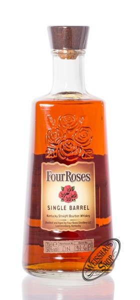 Four Roses Single Barrel Bourbon Whiskey 50% vol. 0,70l