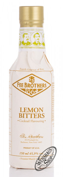 Fee Brothers Lemon Bitters 45,9% vol. 0,15l