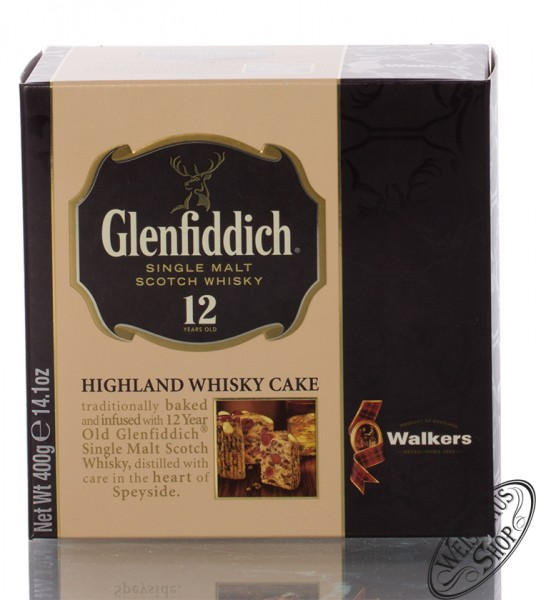 Glenfiddich Whisky Cake 400g