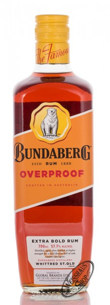 Bundaberg Overproof Extra Bold Rum 57,7% vol. 0,70l