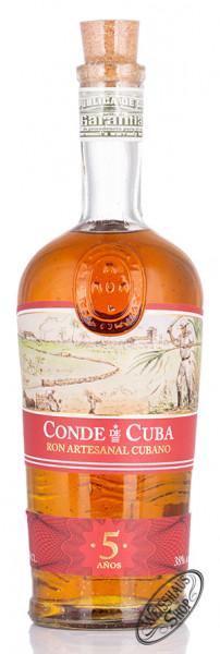 Conde de Cuba 5 Anos Rum 38% vol. 0,70l