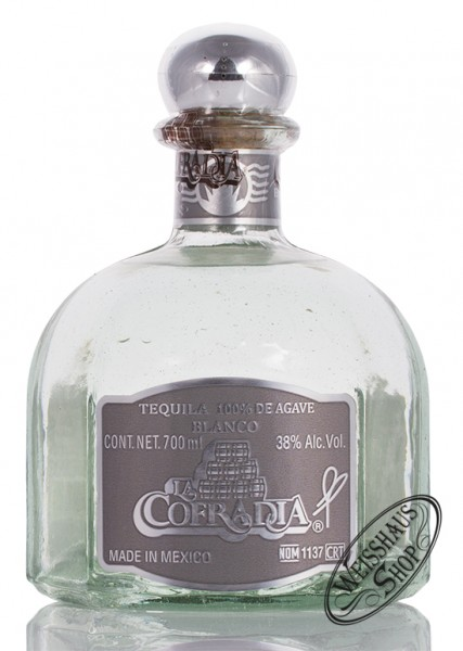 La Cofradia Tequila Blanco 38% vol. 0,70l