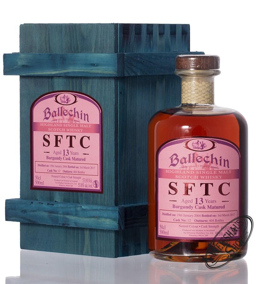 Edradour Ballechin 2004 SFTC Burgundy Cask Whisky 53,8% vol. 0,50l