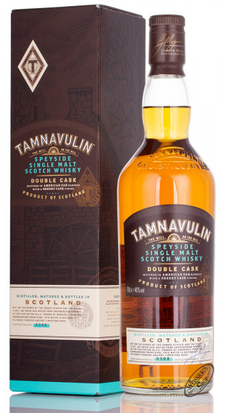 Tamnavulin Double Cask Whisky 40% vol. 0,70l
