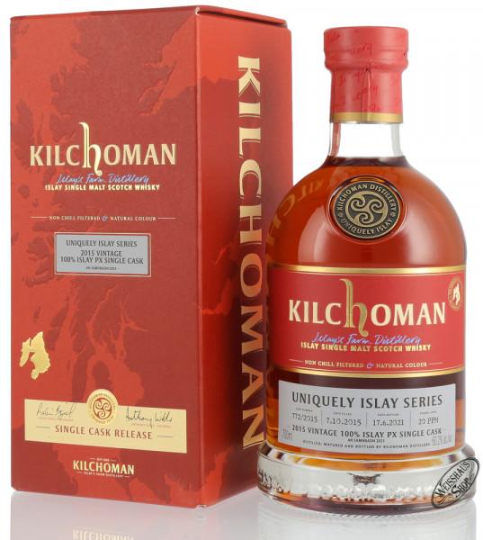 Kilchoman Vintage 2015 Pedro Ximenez Cask Islay Whisky 60,2% vol. 0,70l