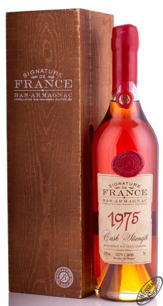 Signature de France Vintage 1975 Armagnac 42,8% vol. 0,70l