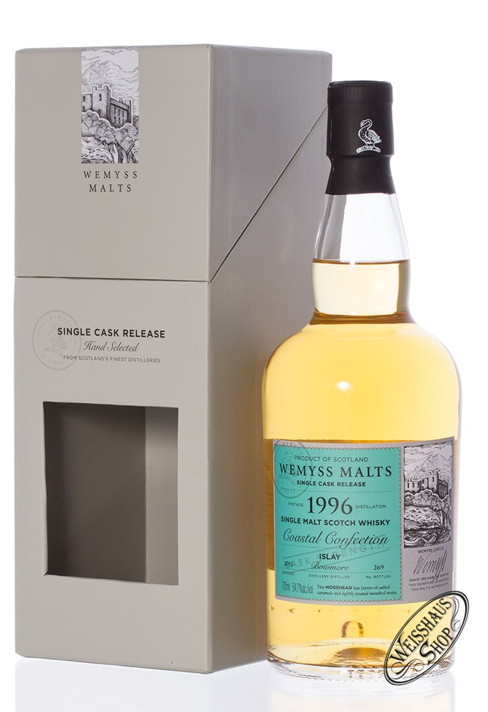 Bowmore Vintage 1996 Wemyss Coastal Confection Whisky 54,7% vol. 0,70l