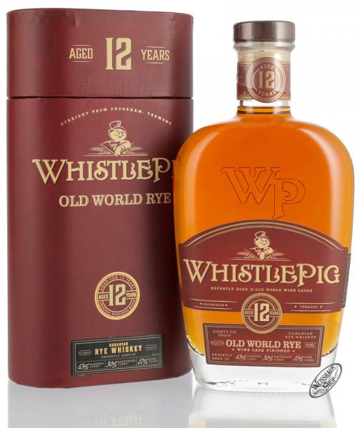 Whistle Pig 12 YO Straight Rye Whiskey 43% vol. 0,70l