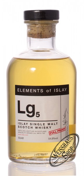 Elements of Islay Lg5 Whisky 54,8% vol. 0,50l