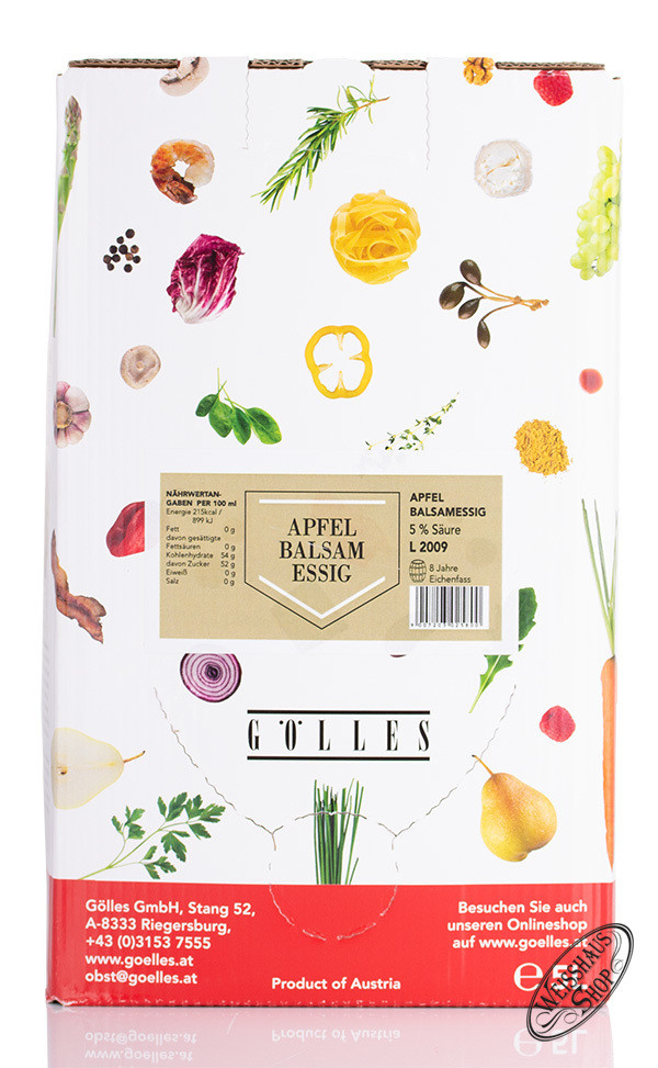 G�lles Apfel Balsam Essig 5,0l Bag in Box