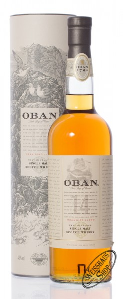 Oban 14 YO Single Malt Whisky 43% vol. 0,70l