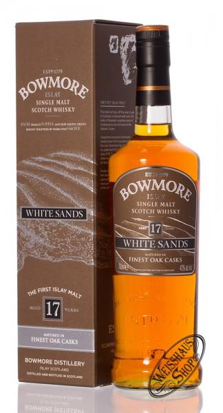 Bowmore White Sands 17 YO Islay Whisky 43% vol. 0,70l