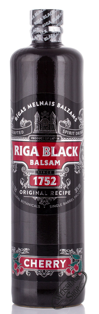 Riga Black Balsam Cherry Bitter 30% vol. 0,70l