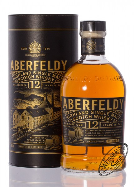 Aberfeldy 12 YO Single Malt Whisky 40% vol. 0,70l