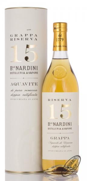 Nardini Grappa Riserva 15 anni 50% vol. 0,70l