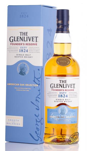 The Glenlivet Founders Reserve Whisky 40% vol. 0,70l