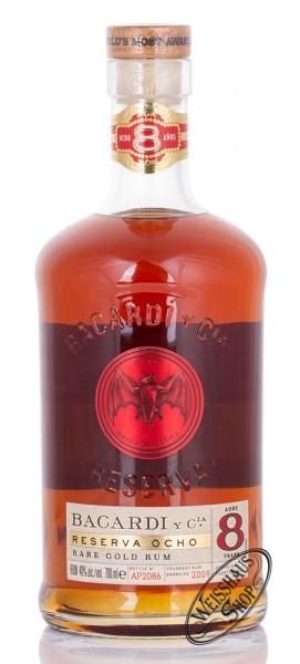 Bacardi 8 YO Rum Reserva Superior 40% vol. 0,70l
