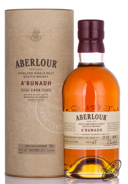 Aberlour A'Bunadh Batch No. 65 Whisky 59,5% vol. 0,70l