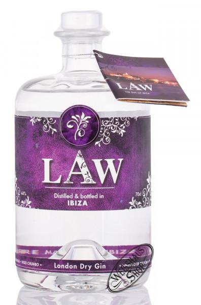 LAW London Dry Gin Ibiza 44% vol. 0,70l