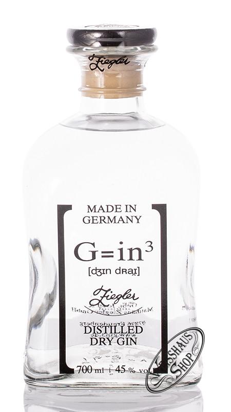 Brennerei Ziegler Ziegler G=in� Classic Dry Gin 45% vol. 0,70l