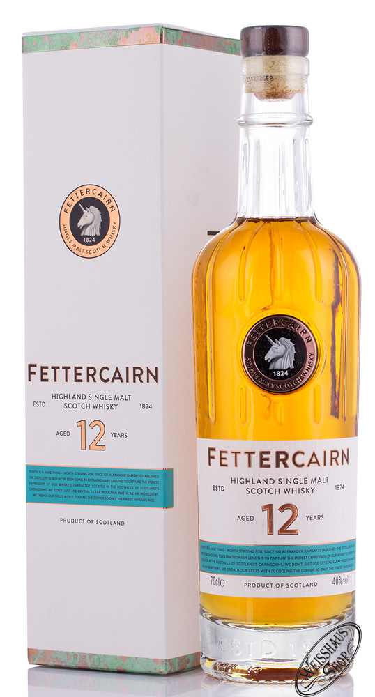 Fettercairn 12 YO Whisky 40% vol. 0,70l