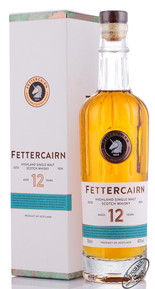 Fettercairn 12 YO Highland Single Malt Whisky 40% vol. 0,70l