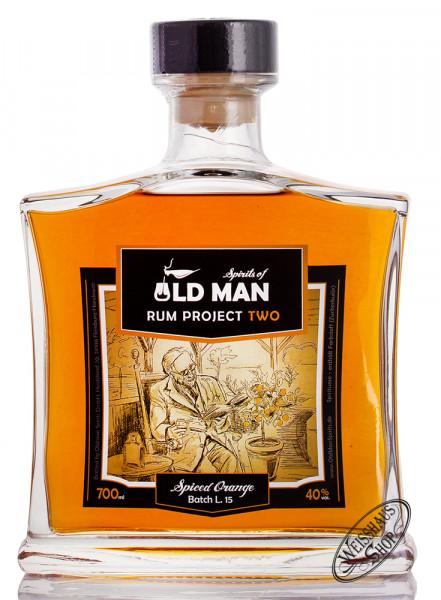 Old Man Project Two Spiced Orange Spirit 40% vol. 0,70l