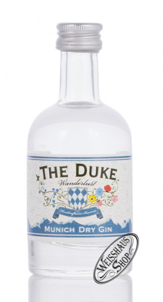 The Duke BIO Gin Wanderlust Miniatur 47% vol. 0,05l