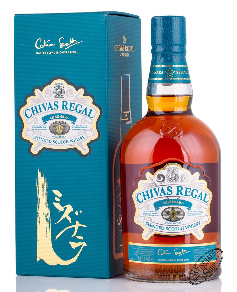 Chivas Regal Mizunara Whisky 40% vol. 0,70l