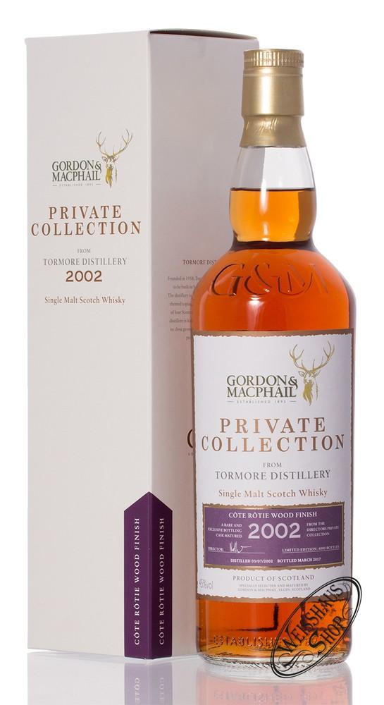Tormore 2002 Cote Rotie Gordon & MacPhail Whisky 45% vol. 0,70l