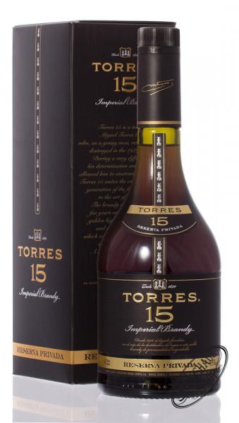 Torres 15 YO Reserva Privada Brandy 40% vol. 0,70l