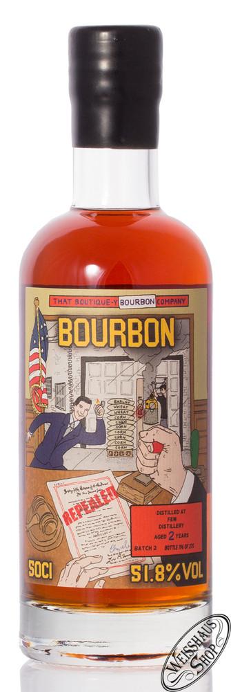 FEW 2 YO TBWC Bourbon Whisky 51,8% vol. 0,50l