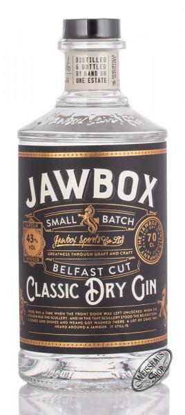 Jawbox Small Batch Gin 43% vol. 0,70l