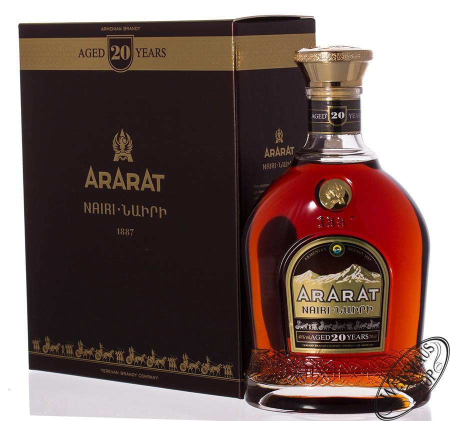 Ararat Nairi 20 YO Brandy 40% vol. 0,70l