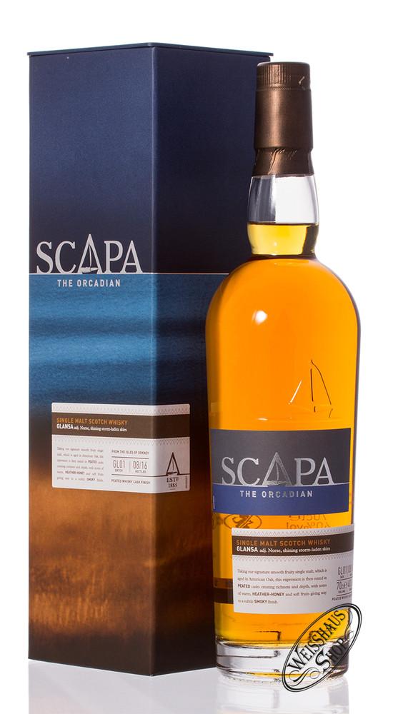 Scapa of Orkney Glansa Whisky 40% vol. 0,70l