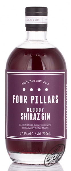 Four Pillars Bloody Shiraz Gin 37,8% vol. 0,70l
