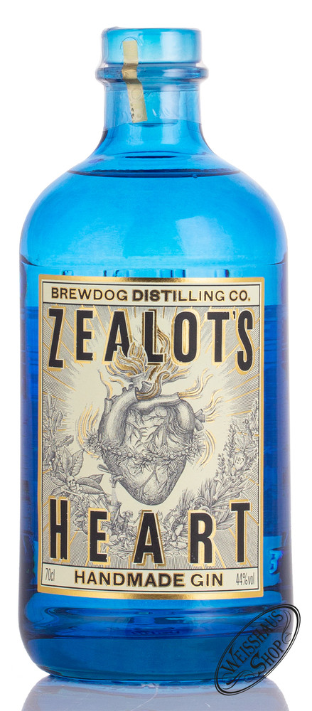 Brewdog Distilling Co. Zealot's Heart Gin 44% vol. 0,70l