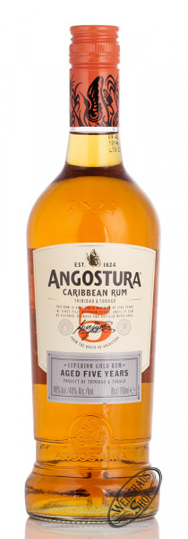Angostura 5 YO Gold Rum 40% vol. 0,70l