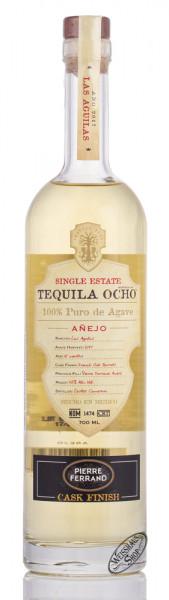 OCHO Las Aguilas 2017 Ambré Cognac Cask Finish Tequila 42% vol. 0,70l
