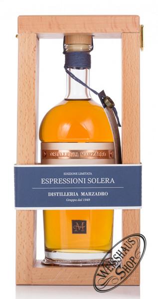 Marzadro Grappa Espressioni Solera 42% vol. 0,70l
