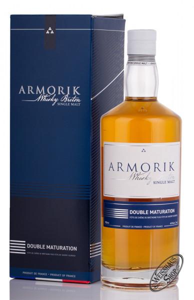 Armorik Double Maturation Single Malt Whisky 46% vol. 0,70l
