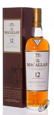 Macallan Sherry Oak 12 YO Single Malt Whisky 40% vol. 0,70l