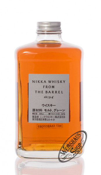 Nikka from the Barrel Whisky 51,4% vol. 0,50l