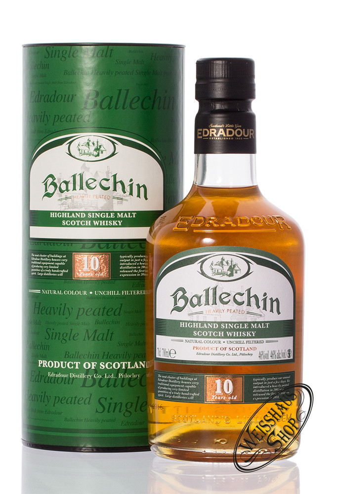 Edradour Ballechin 10 YO Highland Whisky 46% vol. 0,70l