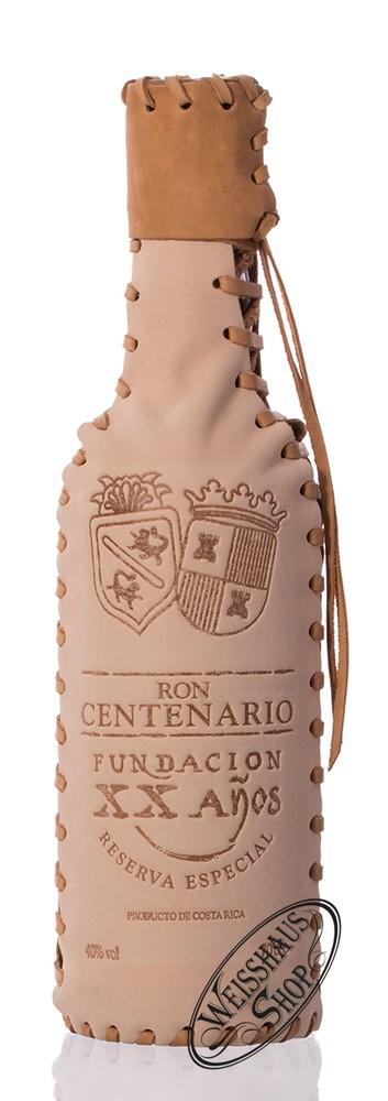 Ron Centenario XX Lederflasche 40% vol. 0,70l
