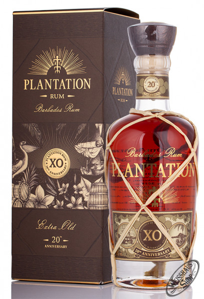 Plantation Barbados X.O. Rum 20th Anniversary 40% vol. 0,70l