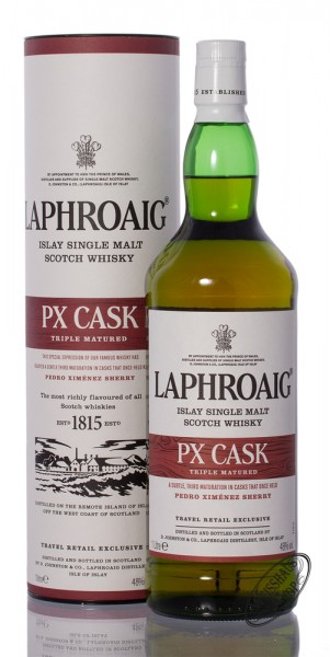 Laphroaig PX Cask Islay Whisky 48% vol. 1,0l