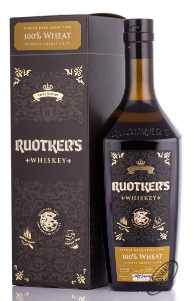 Ruotkers Oloroso Sherry Cask Whiskey 40,3% vol. 0,70l