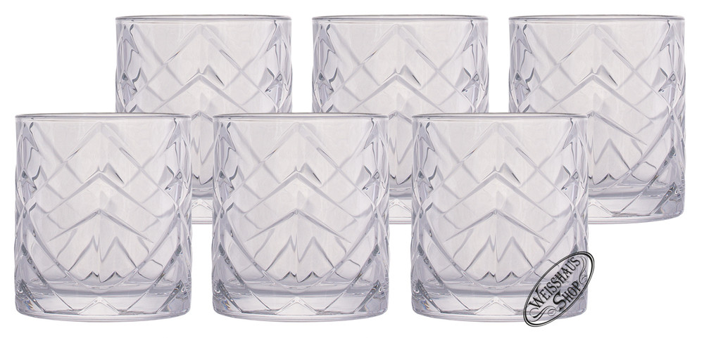 Zwiesel Kristallglas AG Schott-Zwiesel Fascination Whisky/Rum Tumbler Set 6 Gl�ser