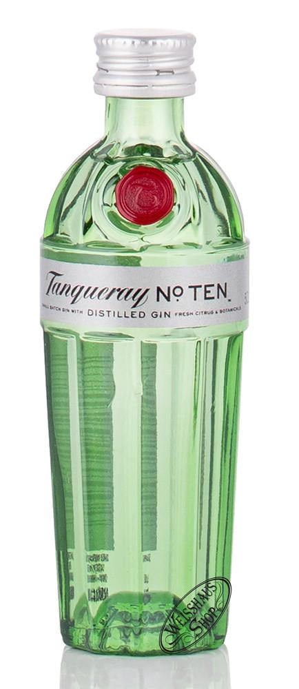 Tanqueray No. 10 Gin 47,3% vol. 0,05l Miniatur